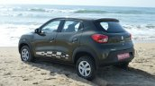 Renault Kwid 1.0 MT rear quarter First Drive Review
