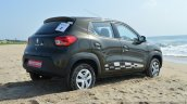 Renault Kwid 1.0 MT rear quarter right First Drive Review