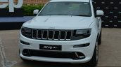 SRT Grand Cherokee front quarter launched in India