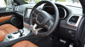 SRT Grand Cherokee interior launched in India