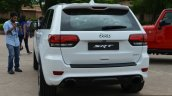 SRT Grand Cherokee rear quarter launched in India