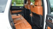 SRT Grand Cherokee rear seats launched in India