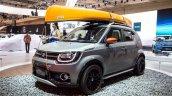 Suzuki Ignis Water Activity Concept front quarter showcased at GIIAS