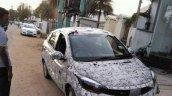 Tata Kite 5 compact sedan front spied in Tamil Nadu