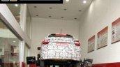 Tata Kite 5 compact sedan rear spied in Tamil Nadu