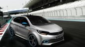 Tata Kite 5 rendered as a hot-hatch front three quarter by IAB reader