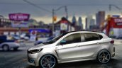 Tata Kite 5 rendered as a hot-hatch side by IAB reader