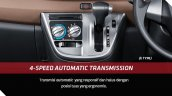 Toyota Calya 4-speed automatic transmission
