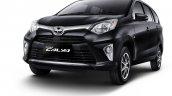 Toyota Calya black front three quarters