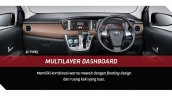 Toyota Calya interior dashboard