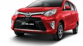 Toyota Calya red front three quarters