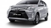 Toyota Calya silver mica metallic front three quarters