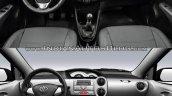 Toyota Etios facelift vs Older model interior Old vs New