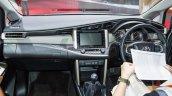 Toyota Innova Crysta dashboard showcased at GIIAS