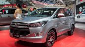 Toyota Innova Crysta front three quarter showcased at GIIAS