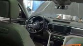 VW Teramont interior spied