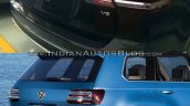 VW Teramont vs. VW CrossBlue concept rear fascia