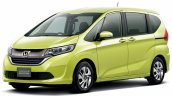 2016 Honda Freed front quarter launched Japan
