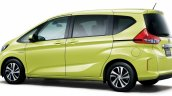 2016 Honda Freed rear quarter launched Japan