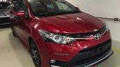 2016 Toyota Vios TRD Sportivo front quarters live image