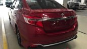 2016 Toyota Vios TRD Sportivo rear quarters live image