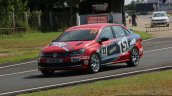 2016 VW Vento Cup Racecar on the track Driven
