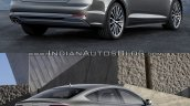 2017 Audi A5 Sportback vs. 2012 Audi A5 Sportback rear three quarters