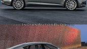 2017 Audi A5 Sportback vs. 2012 Audi A5 Sportback side profile