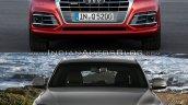 2017 Audi Q5 vs. 2013 Audi Q5 front