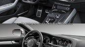 2017 Audi S5 Sportback vs 2012 Audi S5 Sportback interior