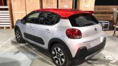 2017 Citroen C3 rear spotted