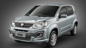 2017 Fiat Uno front three quarter official image