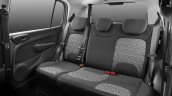 2017 Fiat Uno rear seat official image