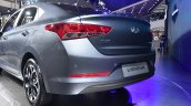 2017 Hyundai Verna rear three quarter makes world premiere