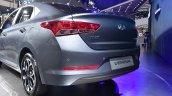 2017 Hyundai Verna rear three quarter makes world premiere