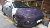 2017 Hyundai i30 Wagon front three quarters spy shot