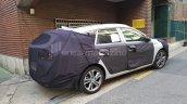 2017 Hyundai i30 Wagon rear three quarters spy shot