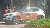 2017 Jeep Compass (551) side spied undisguised for the first time