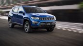 Jeep Compass Longitude front dynamic unveiled