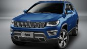 Jeep Compass Longitude front quarter unveiled