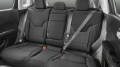 Jeep Compass Longitude rear seat unveiled