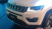 2017 Jeep Compass grille live image