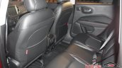 2017 Jeep Compass rear seat live image