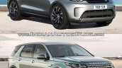 2017 Land Rover Discovery vs. Land Rover Discovery Sport exterior