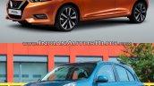 2017 Nissan Micra vs Old model front quarter