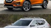2017 Nissan Rogue (facelift) vs. 2014 Nissan Rogue - Image Gallery front three quarters left side