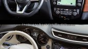 2017 Nissan Rogue (facelift) vs. 2014 Nissan Rogue - Image Gallery interior dashboard driver side