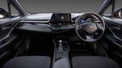AU-spec 2017 Toyota C-HR interior dashboard