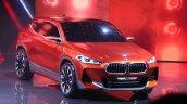 BMW X2 concept front quarter at 2016 Paris Motor Show