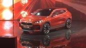 BMW X2 concept front quarters at 2016 Paris Motor Show